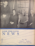 Bangor Hydro Electric News: May 1940: Volume 10, No.5, Quarter Century Club Issue