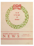 Bangor Hydro Electric News: December 1938: Volume 8, No.12 -- Christmas Issue