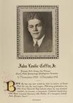 Coffin, Jr., John Leslie