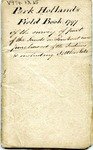 Park Holland's Field Book 1797 by Park Holland