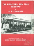 The Biddeford and Saco Railroad by Osmond Richard Cummings