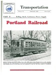 Portland Railroad: Part II, Rolling stock, carhouses, power supply