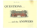 Questions ... and the Answers: Why Does Maine Need a New Library by University of Maine - Main