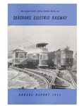 Seashore Electric Railway Annual Reports 1955 & 1956 by New England Electric Railway Historical Society, Inc.