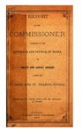 Report of the Commissoner Appointed by the Governor and Council of Maine to Locate and Survey Bridges Across the St. John and St. Francis Rivers, Connecting the United States with the Dominion of Canada