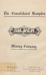 The Consolidated Hampden Silver Mining Company
