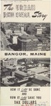 The Urban Renewal Story, Bangor, Maine: How It Can Be Done and How It Can Save You Tax Dollars