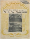 The Bangor Hydro-Electric News: April 1939, featuring Fiftieth Anniversary of Bangor Street Railway by Bangor Hydro Electric Company