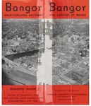 Bangor: The Center of Maine (Three 1940s Promotional Pamphlets)
