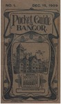Pocket Guide for Bangor: December 15, 1909 by Bangor Railway and Electric Company