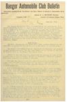 Bangor Automobile Club Bulletin by Bangor Automobile Club