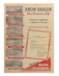 Know Bangor: Your Convention City (Special Issue of the Bangor Daily News -- September 28, 1964) by Bangor Daily News