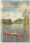 Maine the Land of Remembered Vacations 1949