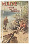 Maine Fishing Hunting Canoeing 1944 by Maine Development Commission