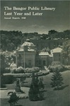 Bangor Public Library Annual Report 1945 by Bangor Public Library