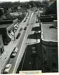Painted traffic lanes State Street, ca. 1954