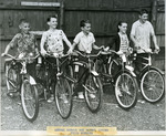 Annual School Boy Patrol Outing Prize Winners, ca. 1954 by Bangor Police Department