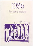 The Crusader: 1986 by John Bapst High School