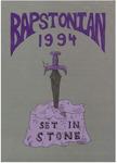 The Bapstonian: 1994 by John Bapst High School