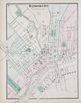 City of Bangor Map, 1875