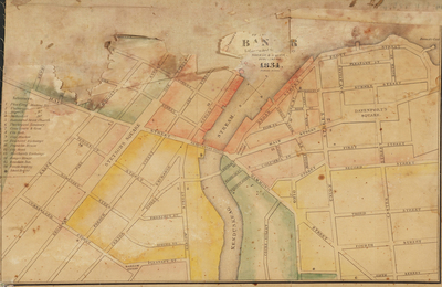 Map of Bangor, 1834