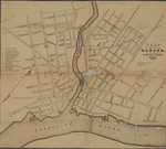 Plan of the City of Bangor, 1846 by Samuel S. Smith