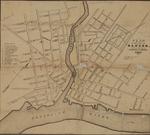 Plan of the City of Bangor, 1846
