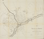 Map of Bangor and Brewer, 1892 by Baldwin and Coombs