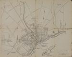 Map of Bangor, 1956 by Bangor Chamber of Commerce