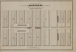A Map of Lots in the City of Bangor, Me. by N. Currier's Lithographers