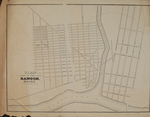 Plan of Part of the City of Bangor, Maine.  ca. 1834