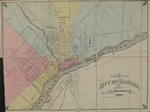 Map of the City of Bangor,  1888