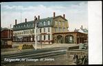 European & North American Railroad Station, ca. 1900