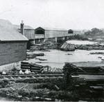 Veazie Railroad Bridge, ca. 1865