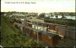 Freight Yard, M.C.R.R., Bangor, ca. 1950