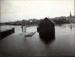 Flooded Railroad, Bangor, 1902