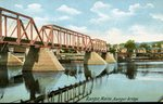 Bangor-Brewer Railroad Bridge, ca. 1915