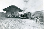 North Whitefield Depot, ca. 1910