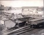Railroad Yard Damage, ca. 1902