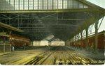 Union Station Train Shed and Tracks, ca. 1910