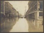 Broad Street Flooding, Bangor, Maine, March or April 1902