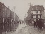 Broad Street Flooding, Bangor, Maine, March or April 1902 #2