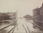 Flooded Railroad, Bangor, Maine, Late March 1902