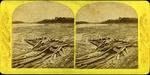 Log Jam at the Penobscot Boom, Bangor, ca. 1885
