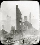 Morse Oliver Building Ruins, Bangor Fire, 1911 by Leyland Whipple