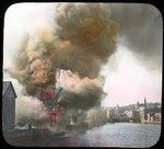 Broad Street fire, Bangor, 1911 by Leyland Whipple