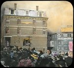 Public Library catches fire, Bangor, 1911 by Leyland Whipple