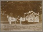 Thurston & Kingsbury Wholesale Grocers Bangor Carnival Parade Float, June 18, 1912