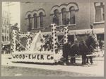 Wood & Ewer Co. Bangor Carnival Parade Float, June 18, 1912
