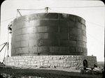 Thomas Hill Standpipe Under Construction Circa 1897